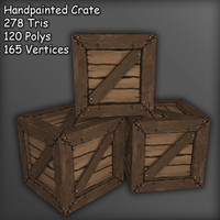 Handpainted Crate