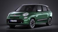Fiat 500L Living 2014 VRAY