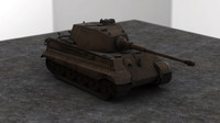 World War 2 German Tank