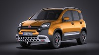 Fiat Panda Cross Country 2014 VRAY