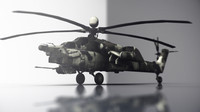 Mi 24 Havoc Helicopter