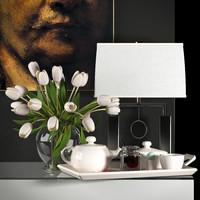 Decorative vase set 4