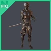 cyber ninja sword 3d model