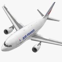 Airbus A310-300 Air France Rigged