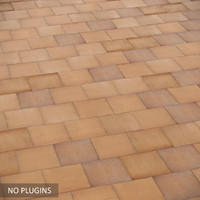 Realistic old tile(no plugins)