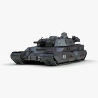 Futuristic Heavy Tank