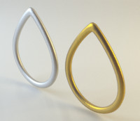 Tear Shaped Ring