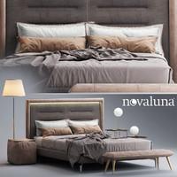 Novaluna QUEEN Fabric bed