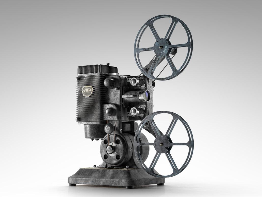 Ampro 16MM Projector 1.jpg