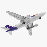 Airbus A310-300 FedEx Rigged
