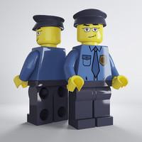 Lego Policeman