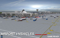 Air port & Vehicles
