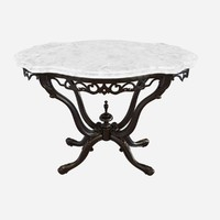 19th Century Anglo-Indian Marble-Top Table