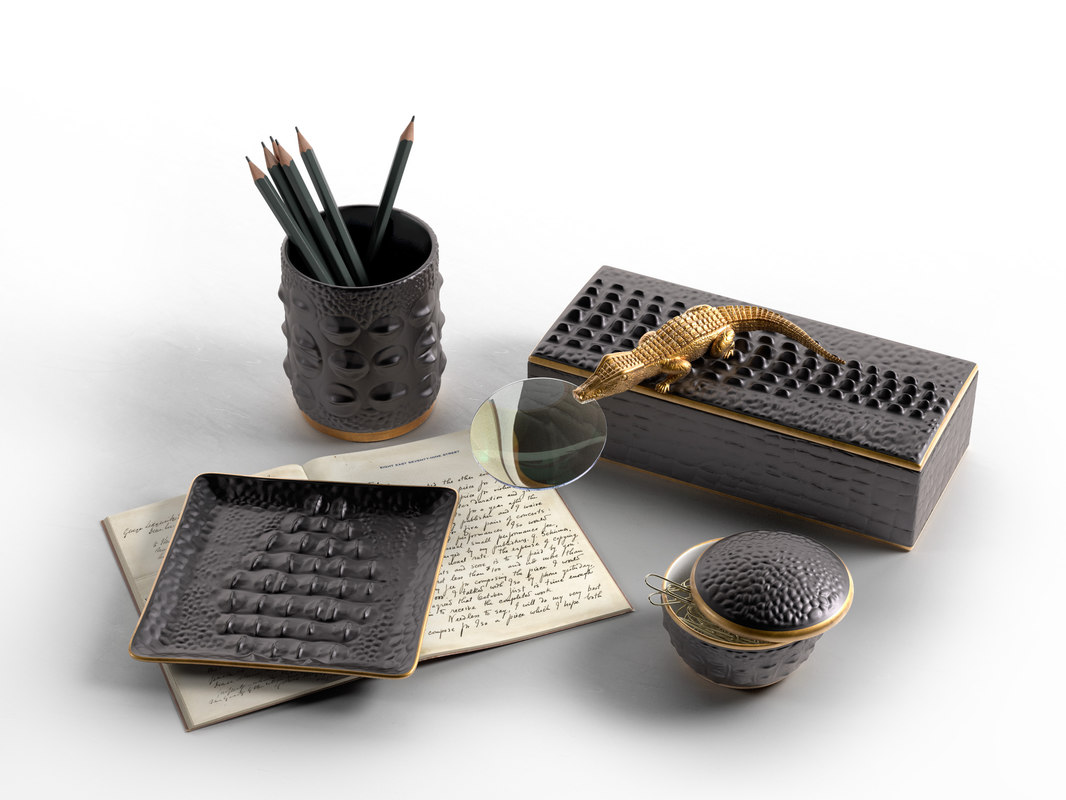 Crocodile Collection Diary, Boxes and Cup with Pencils 1.jpg