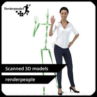 Jessica 001 - Rigged Casual Women