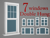 Double hung windows wood collection