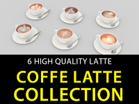 6 Coffe Latte Collection