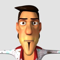 Cartoon Man For Animation