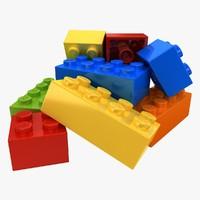 Lego Bricks (Pose 1)