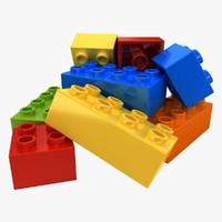 Lego Bricks 2 (Pose 1)