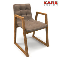 Chair Kare Design Trapez Leather