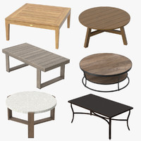 Patio Coffee Tables Collection