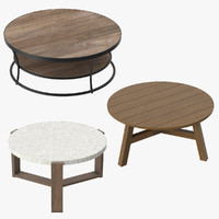 Patio Coffee Tables Round