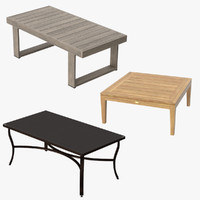 Patio Coffee Tables Square