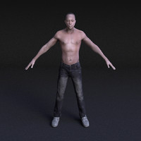 Male Model #2 - Rigged