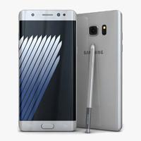 Samsung Galaxy Note7 Silver Titanium