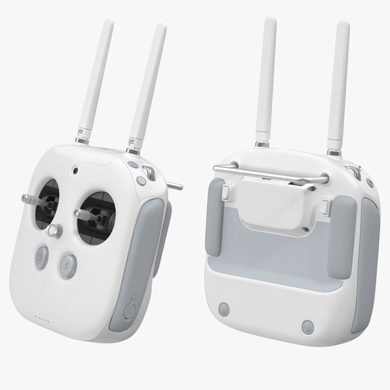 DJI Phantom Radio Controller vray 3d model 00.jpg