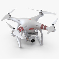 DJI Phantom 3 Professional Quadcopter Red