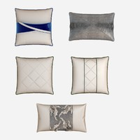 Modern pillow set