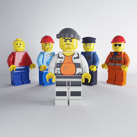 Lego Characters Set