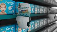 Diaper Supermarket Gondola Mercado