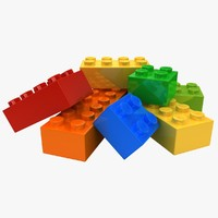 Lego Bricks (Pose 2)