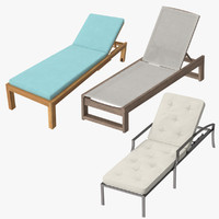 Outdoor Chaises Collection