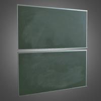 Chalk Board - PBR Game Ready