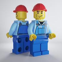 Lego Workman