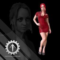 Female Scan - Sonya Dress