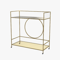 Alsager Serving Cart by House of Hampton