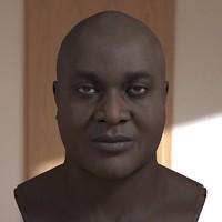 3D model Joseph head male