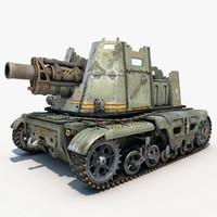 Tank Post Apocalyptic