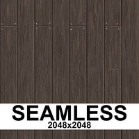 Seamless Wooden Planks Texture