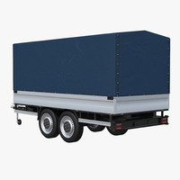 Two-axle Cargo Trailer