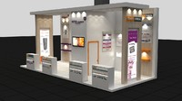 Implant Exhibit Fair Stand 9x4