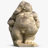 Sculpture Harlequin