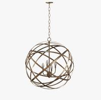 Gaia 4 Light Globe Pendant