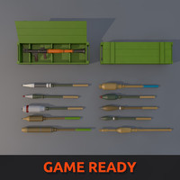 Low Poly RPG-7