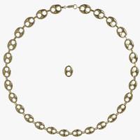 Gold Bean Chain